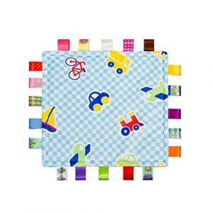 Toymytoy Tag confortable Couverture bébé Sécurité couvertures en peluche doudou (Avion) (Cheryla, neuf)