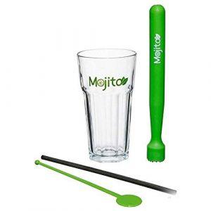Coffret Service à mojito de 13 pièces (iDHousse, neuf)