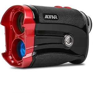 AOFAR Télémètre de Golf G2 - Deux décimales 6X Télémètre Laser étanche avec Pente, Vibration pulsée, Sac de Transport, Compatible avec Batterie Panasonic, Emballage Cadeau (Aofar, neuf)