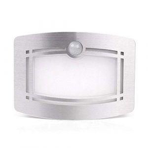 Lampe Murale LED, PHOEWON LED Applique Murale Interieur Détecteur de Mouvement Lumiere Lampe de Nuit pour Hallway Escalier Wardrobe Salle de Bain (Honphier-EU, neuf)