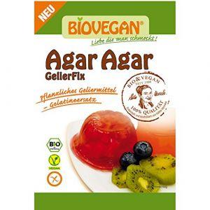Agar agar bio et sans gluten sachet de 30g BioVegan - Agar agar en poudre Végétarien - Poudre agar agar gélatine en poudre bio gélifiant - Gélatine agar agar en poudre - 30g (2W ORGANIC (SAS), neuf)