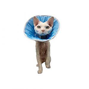 Grande Finale Collerette Post-OP de cicatrisation pour Chien ou Chat (6 (XXXL) - Tour de tête: 50-60cm) (cat-or-dog-boutique, neuf)