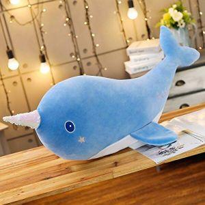 Poupée De Baleine Kawaii, Jouet En Peluche Doux Animal Marin En Peluche Mer Marine, Cadeau De Noël Pour Enfants Enfant 55Cm Bleu (lizhaowei531045832, neuf)