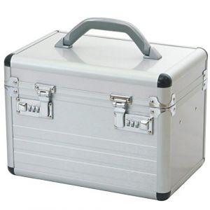 Vanity Case Valise Beautè Pour Cosmétique Aluminium Argent (shoppingbag24, neuf)