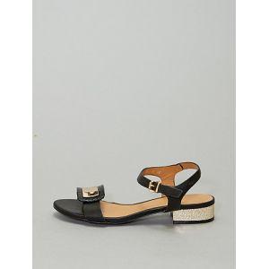 Sandales à talons noir - Taille 38