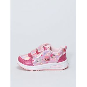 Baskets lumineuses 'L.O.L Surprise !' rose - Taille 30