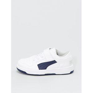 Baskets basses 'Puma' blanc - Taille 23