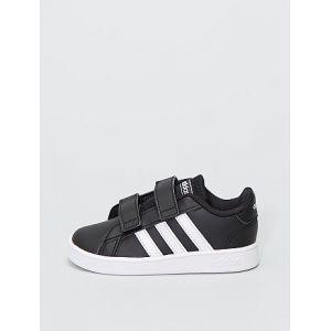 Baskets en simili 'adidas grand court 1' noir - Taille 27