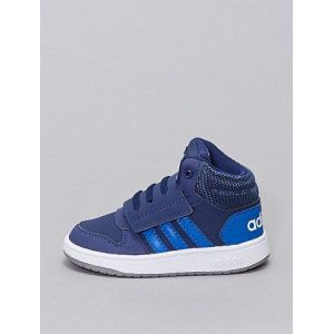 Baskets montantes 'adidas Hoops Mid' bleu marine - Taille 23