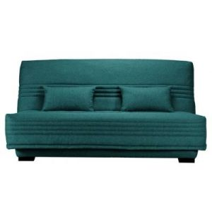 Banquette clic - clac Guidel, matelas 17 cm & Sommier - Made In France