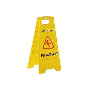 Panneau de sécurité sol glissant/mouillé