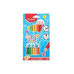 Pochette carton de 24 Crayons de couleur EARLY AGE - Lot de 2