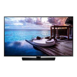"Samsung HG55EJ670UB - Classe 55"" - HJ670U Series TV LED - hôtel / hospitalité - Smart TV - Tizen OS 4.0 - 4K UHD (2160p) 3840 x 2160 - HDR - noir charbon"