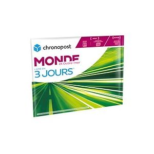 Pochette 1 kg Chrono Express Monde