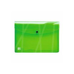 Chemise de présentation à pression Elba 24 x 33,5 cm couleurs assorties - Lot de 5