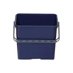 Seau de lavage professionnel bleu 6 litres