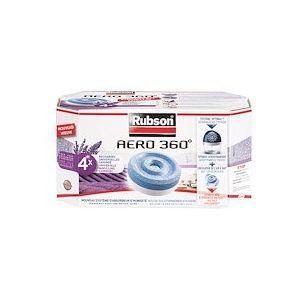 Recharge lavande Aero 360° pour absorbeur d'humidité Rubson - Boite de 4
