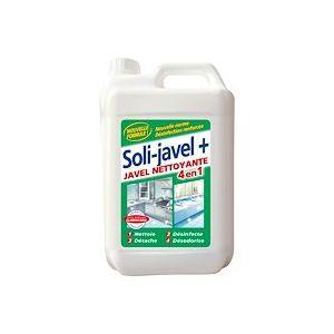 Javel nettoyante Solipro 2 en 1 - Bidon 5 litres