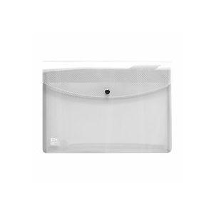 Chemise de présentation à pression Elba 24 x 33,5 cm incolore - Lot de 5