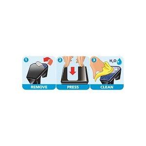 Dévidoir de bureau Easy Cut Smart, rose + 4 rouleaux - Lot de 3