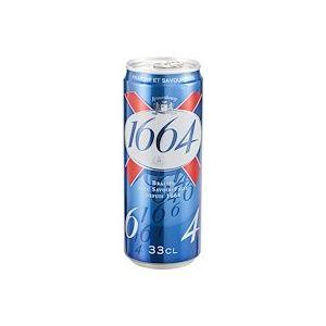 Bière 1664 canette 33 cl - carton de 24