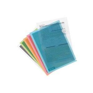 Pochette transparente pour protection des données - Lot de 10