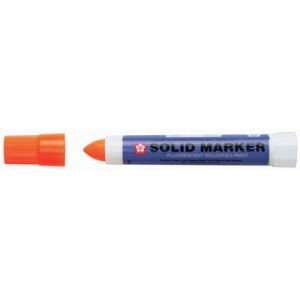 Marqueur industriel 'Solid Marker', rose fluo - Lot de 6