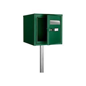 Boîte à lettres verte