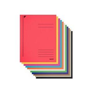 Chemise à spirale, carton ColorSpan, format A4, vert - Lot de 25