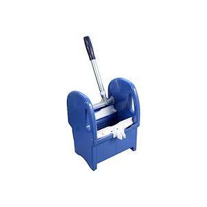 presse plastique bleu a machoires