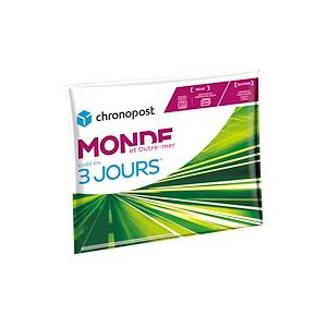 Pochette gonflable 2 kg Chronopost Express Monde