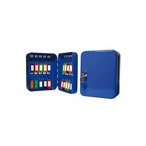 Armoire 20 clés fermeture à clé couleur