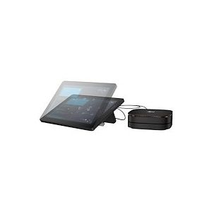 """HP Elite Slice G2 Audio Ready with Microsoft Teams Rooms - USFF - Core i5 7500T 2.7 GHz - vPro - 8 Go - SSD 128 Go - LCD 12.3"""""""