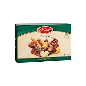 Gâteaux assortiment Delacre Tea Time - Boîte 500 g