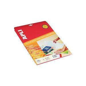 Pochette 10 feuilles film adhésif A4+