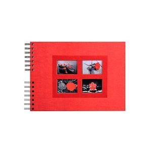Album photos à spirales 50 pages noires Passion - 32x22 cm.