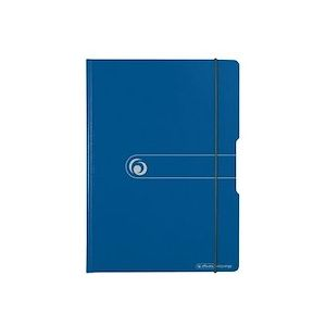 Chemise porte-bloc easy orga to go, bleu - Lot de 3