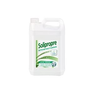 Nettoyant dégraissant multi-surfaces Ecolabel Solipropre pomme - Bidon de 5 litres