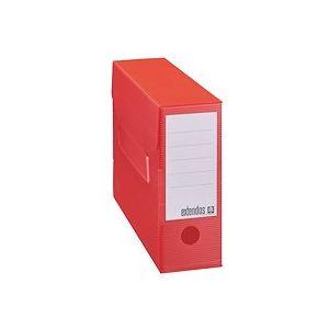 Boîte archives plastique Extendos dos 10 cm couleurs assorties - Lot de 12