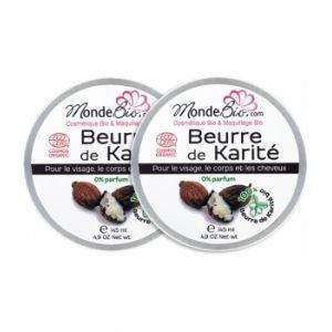 Beurre de Karité Bio et Pur Lot de Le Monde du Bio