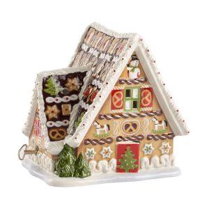 Maison en pain d'épices avec boîte à musique Christmas Toys Marron Villeroy & Boch
