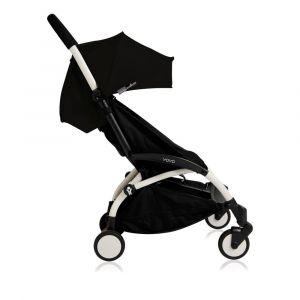 Poussette complète new Yoyo+ junior 6 mois-5 ans, châssis blanc Noir