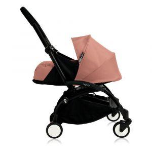 Poussette complète new Yoyo+ naissance 0-6 mois, châssis noir