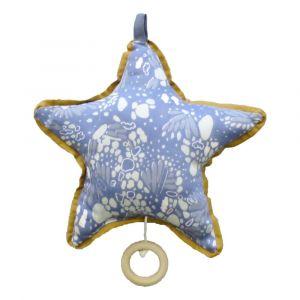 Mobile musical étoile de mer Bleu