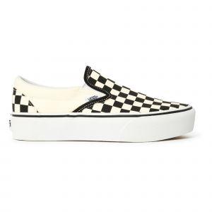 Baskets Checkerboard Classic Slip-On Platform - Collection Femme - Noir
