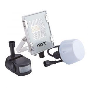 Biard Projecteur LED Blanc 10 Watts avec détecteur IP65