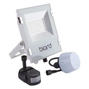 Biard Projecteur LED Blanc 30 Watts avec détecteur IP65