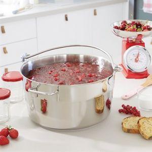 Bassine à confiture - Marmite à crustacés inox 30 cm Mathon