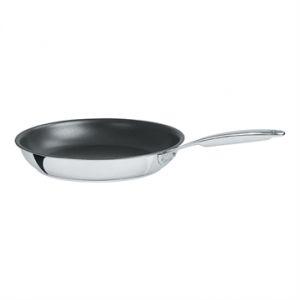 Poêle inox antiadhérente Exceliss Castel'pro 28 cm Cristel