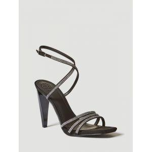 Sandale Bainne Strass Noir - Taille 36